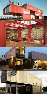 puma and starbucks have used recycled shipping containers to build