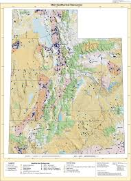 Escalante Utah Map by Heat Flow Maps Geothermal Energy Maps