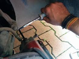 diy skoda fabia brake disc rotor change u0026 4th service too