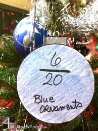 christmas ornament craft with fractions mathfour