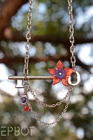 vintage key pendant necklace images Epbot my diy vintage skeleton key necklaces jpg