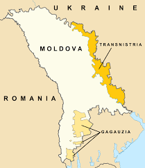 where is moldova on the map map of moldova transnistria and gagauzia reconsidering russia
