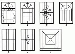 Awesome Window Grill Designs For Homes Dwg Amazing House