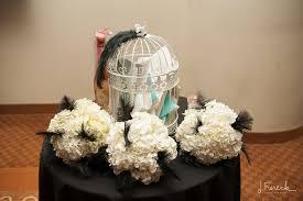 gatsby art deco wedding at gershon fox ballroom connecticut
