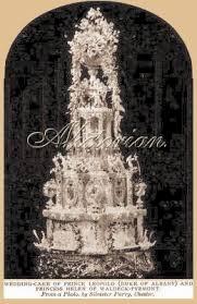 wedding cake history wedding cakes avictorian