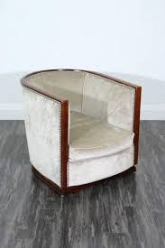 pair of art deco tub chairs for sale at 1stdibs
