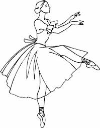 free ballerina coloring pages print coloring pages ideas