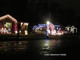 Christmas Lights House by Christmas Street In Sugarhouse Utah U0027s Adventure Family
