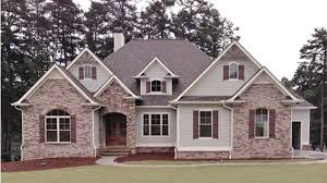 new american house plans home plan homepw77332 2676 square foot 3 bedroom 3 bathroom new