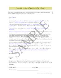 Authorization Letter Representative Sample Sample Of Parental Consent For Travel Free Child Travel Consent