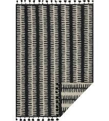 Reversible Rugs Justina Blakeney Kahelo Lines Reversible Rug Black Rugs