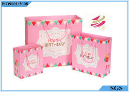 present bags silver cardboard pink paper gift bags customized logo for beautiful