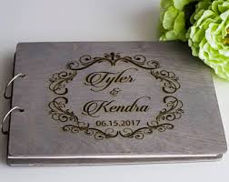 guest book wedding guest books etsy
