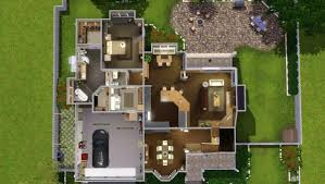 mod the sims traditional suburban 3br 2 5ba cc free