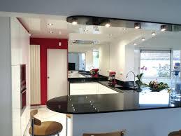 bar de cuisine design photo de cuisine design blanche cuisiniste rouen lzzy co