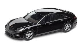 porsche panamera 2017 black panamera 4 g2 jet black metallic 1 43 panamera model cars
