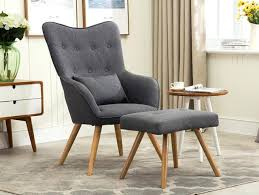 modern armchair with ottoman modern armchair modern chairs with ottomans 2fl me
