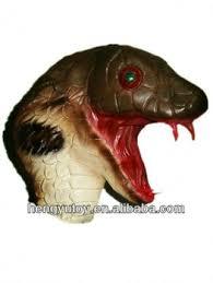 new scary rattle cobra reptile halloween costume snake mask buy