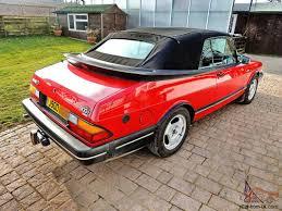 Saab 900 Convertible Classic 67 000 Miles 1992 Lpt Turbo Auto