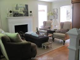 Arranging Living Room Furniture With Fireplace And Tv Cottage And Vine I Re Arranged My Living Room