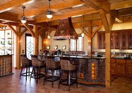 themed kitchens nautical themed timber frame home rustic kitchen by