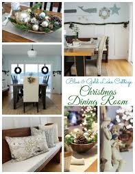christmas dining room christmas home tour day 2 the happy housie