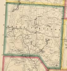 Lake Pleasant Map Wayne And Pike Counties By Jason Torrey 1814