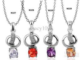 cute necklace images Wholesale women 39 s cute necklaces pendants stamped 18k plated jpg