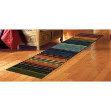 mohawk home striped multicolor runner rug 2 x 8 free
