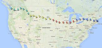 Map From Boston To New York by Fergal And Ciaran Cycle America Boston To Seattle 1 Continent