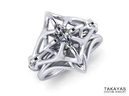elvish wedding rings elven wedding rings lord of the rings inspired elven wedding ring