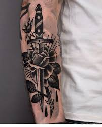 download rose and knife tattoo meaning danielhuscroft com