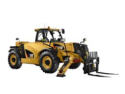 cat th514d telehandler features load sensing hydraulics enhanced