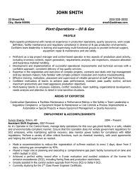 Resume Samples For Experienced It Professionals by Top Oil U0026 Gas Resume Templates U0026 Samples