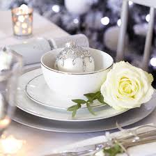 White Christmas Table Decorations Uk by Christmas Table Setting Design Ideas Ideal Home