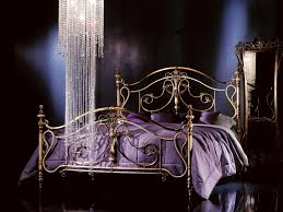 brass and wrought iron beds valente