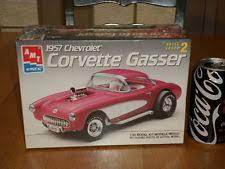 1957 corvette gasser mpc 1957 corvette gasser flip nose 1 25 model chevy car kit ebay