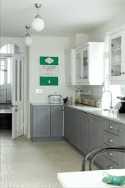the kitchen units are painted mdf in mid lead by the little greene