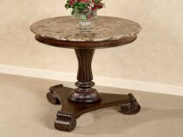 round distressed end table marble top end tables round table antique ends n wells furniture