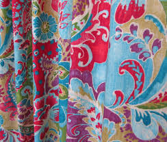 Bohemian Drapes Bright Bohemian Curtains Boho Home Decor Multi Colored
