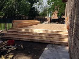 cedar deck 6 steps with pictures