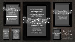 and black wedding invitations classic wedding wedding invitations by jinaiji