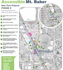 Seattle Traffic Map by Mt Baker Intersection Redesign Could Revolutionize Transportation