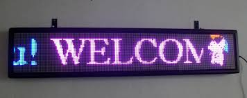 lighted message board signs electronic message board using led monitor college paper writing service