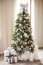 tree decorations astonishing christmas tree decoration ideas pics for white concept