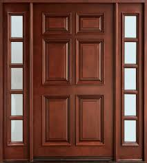 Narrow Double Doors Interior Custom Mahogany Doors Custom Wood Doors Doors For Builders
