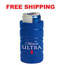 michelob ultra vs bud light new authentic michelob ultra slim golf beer can koozie coozie coolie