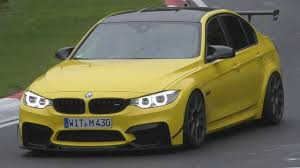Bmw M3 Yellow Green - dakar yellow bmw m3 f80 ringtool by schirmer motorsport youtube