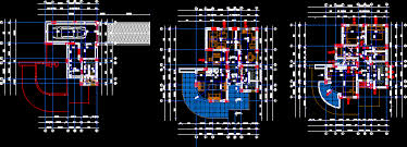2d Home Design Free Download 3 Autocad House Plans Free Download Layout Dwg Inspiring Design