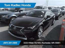 used lexus suv minnesota 2015 lexus rc 350 350 rochester mn minneapolis owatonna winona